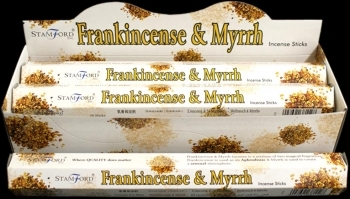 FRANKINSENSE & MYRRH-ΛΙΒΑΝΙ & ΜΥΡΟ